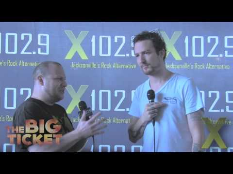 X102.9 Presents: Frank Turner Backstage Interview - The Big Ticket 2013