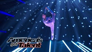Nina Burri: Contortionist Ties Herself into Knots - America's Got Talent 2014