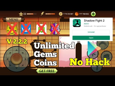 Shadow Fight 2 Unlimited Verify Gems And Coins Collect For Free No Hack No Root