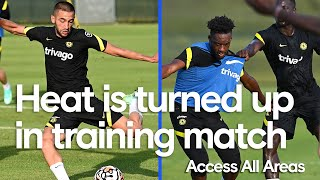 Blues Face Off In Training Match, Hudson-Odoi Shows Off Ridiculous First Touch! 👀