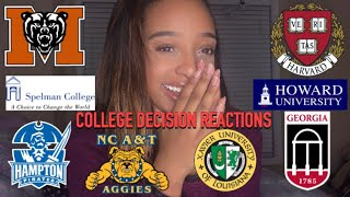 COLLEGE DECISIONS REACTIONS 2019| acceptances, denials, and deferrals