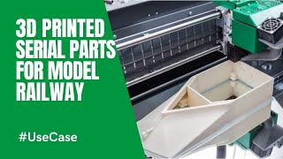 3d printed model railway parts in serial production