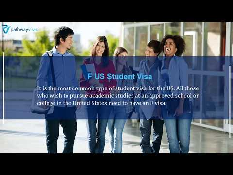 3 Types of US Student Visas for Overseas Students | Pathway Visas