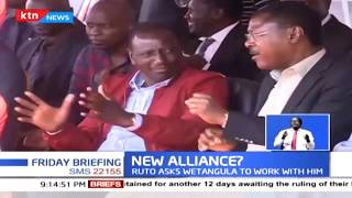NEW ALLIANCE?: DP Ruto, Wetangula tour Western, leaves tongues wagging