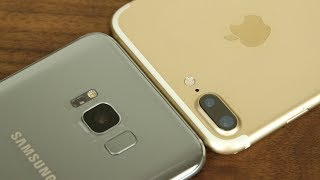 Samsung Galaxy S8+ Plus vs iPhone 7 Plus: Full Comparison
