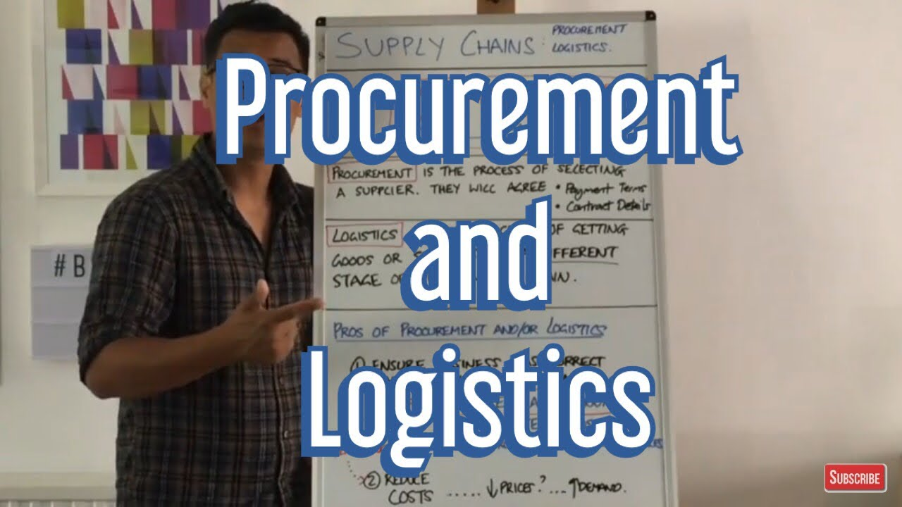 What is Procurement? What is Logistics? - YouTube