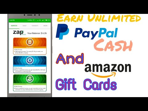 Zap Surveys || How to Earn Paypal Cash and Amazon Giftcards