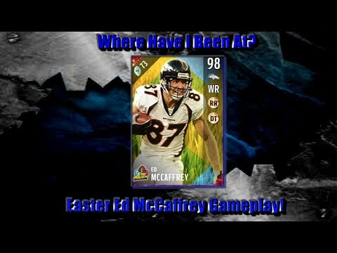 Where Have I Been At? Easter Ed McCaffrey Gameplay/ Madden 17 Ultimate Team Gameplay