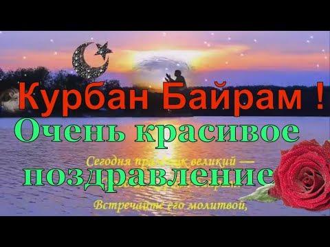 КУРБАН БАЙРАМ поздравления с праздником. Видео открытка поздравление с курбан байрам
