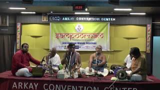 "Sampoornam Foundation For Music and Arts.-""Udayalur Kalyanaraman"