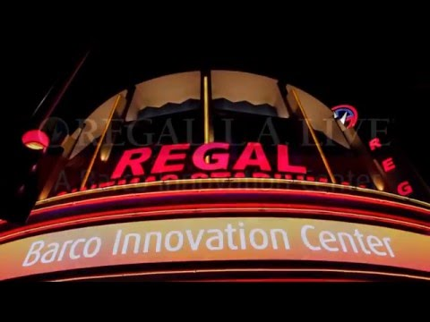 Introducing Regal L.A. LIVE: A Barco Innovation Center