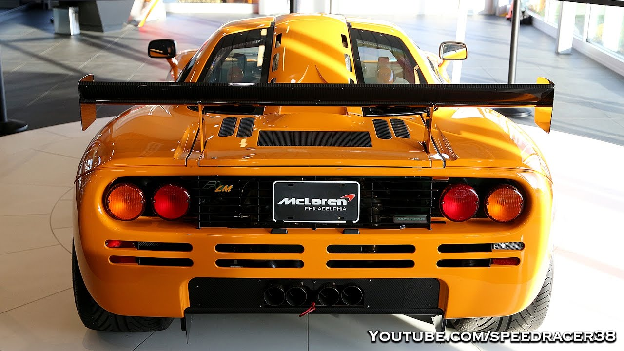 McLaren F1 LM and MSO HS!! Best Halloween EVER. - YouTube