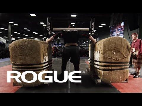 The Bale Tote Yoke - 2016 Arnold Strongman Classic