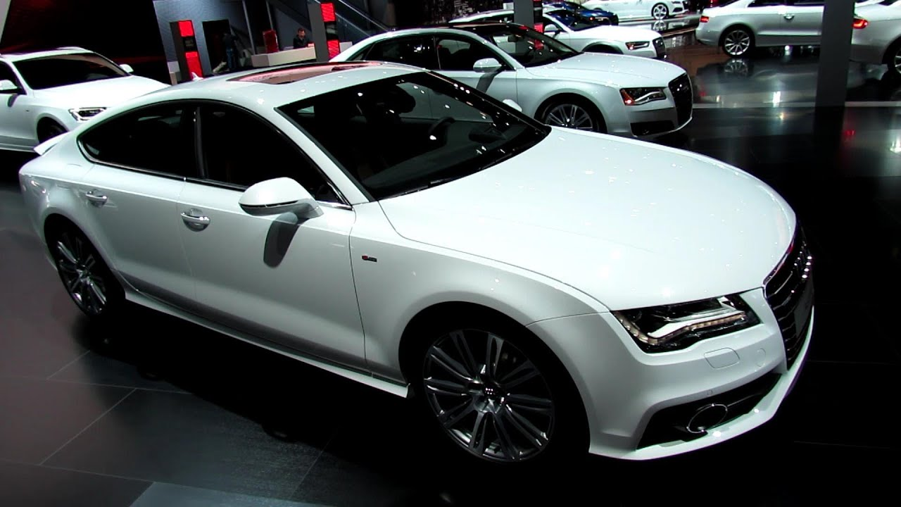 2013 audi a7 tdi s line exterior and interior walkaround. Black Bedroom Furniture Sets. Home Design Ideas
