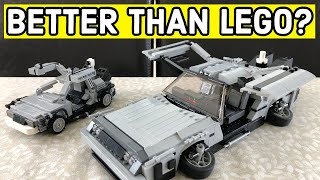 Is this MOC better than the LEGO Back to the Future DeLorean Time Machine?