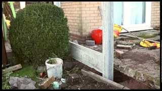 How To Erect A Fence, Garden Project