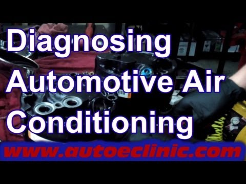 How To Replace An Air Conditioner Compressor - GM Chevy SIlverado 5.7 Ac Wiring Diagram Chevy P on