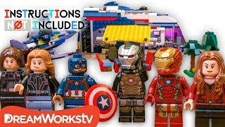 LEGO Mashup: Avengers SUMMER VACATION Marvel RV Camper   INSTRUCTIONS NOT INCLUDED
