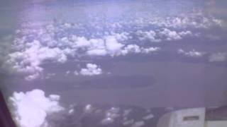 plane window view: Clean  in the sky go to the Andaman I land  part 01