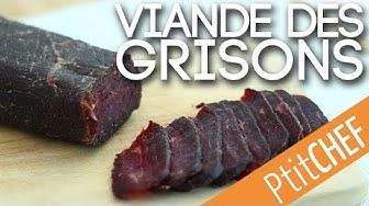 Recette de viande des grisons - Ptitchef.com
