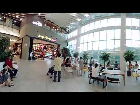 Eunpyeong Lotte Mall - meetup area taken by Longship 360 VR Camera