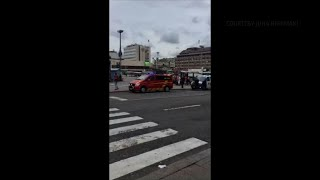 Raw: Police Say 2 Dead in Finland Stabbings