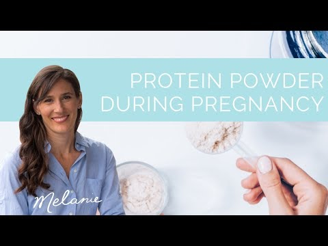 Protein powder during pregnancy: is it safe? | Nourish with Melanie #98