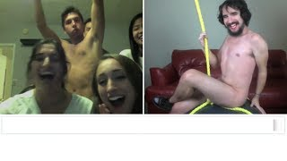 Repeat youtube video Miley Cyrus - Wrecking Ball (Chatroulette Version)