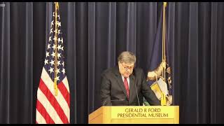 LIVE: Attorney General Barr gives China policy speech at the Gerald R. Ford Presidential Museum