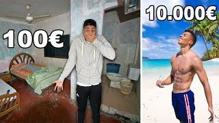 100€ URLAUB VS 10000€ URLAUB !!!   Kelvin und Marvin