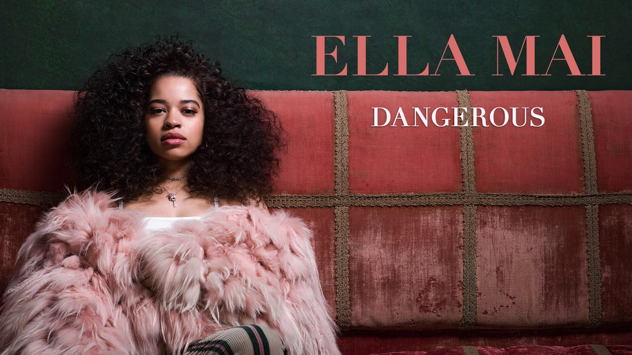 Dangerous by Ella Mai album cover art.