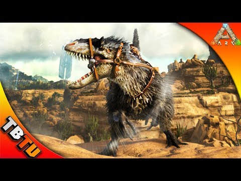 SCORCH EARTH YUTYRANNUS! HOW TO TAME AND WHERE TO FIND! Ark Survival Scorched Earth Gameplay