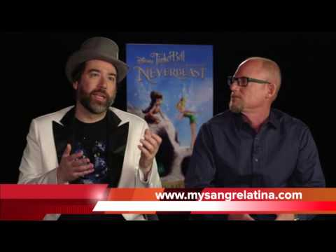 Tinker Bell and the Legend of the NeverBeast Interview with Brett and Bleu
