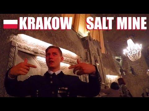 Krakow Poland: The Wieliczka Salt Mine