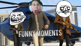 FUNNY GTA 5 Online Moments #1