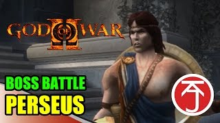 God Of War II - BOSS BATTLE: KRATOS VS PERSEUS