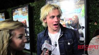 Ross Lynch at the Bad Hair Day Premiere Red Carpet #BadHairDay #DisneyChannelPR