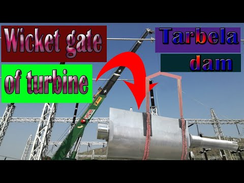 Wicket gates of Hydropower Turbine