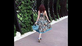 Девушка в платье из ситца. Кавер.