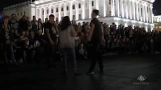 Танцевальные батлы Крещатика,Вечерний Киев часть15 - Dance Battles Khreshchatyk,Kiev Evening part15