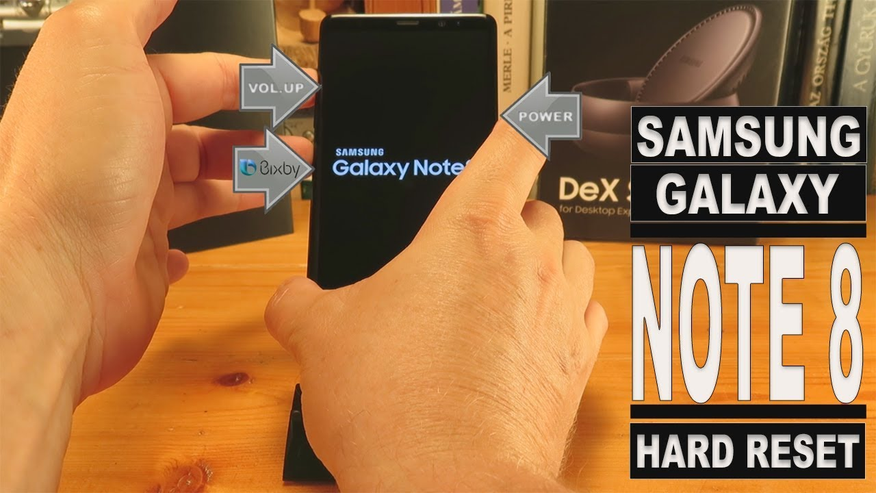 Samsung Galaxy Note 8 Hard Reset (Factory Reset)