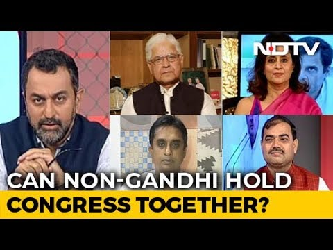 Left Right & Centre | Will Congress Pick A Non-Gandhi President After 2 Decades?