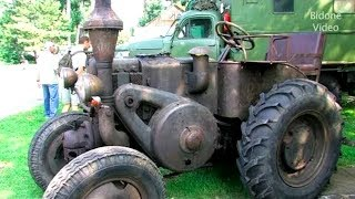 ANCIENT OLD TRACTORS Starting Up - Old Tractor Start up Videos