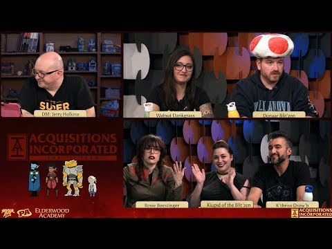 """Table Talk: Anchors Aweigh, Part 4 - S1 E26 - Acquisitions Inc: The """"C"""" Team"""