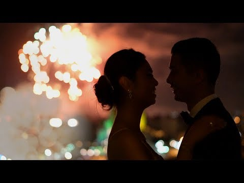 Thumbnail: Epic Disneyland Fireworks at a Wedding | Cinematic Wedding Video shot on Sony a6500 a7SII a7RII
