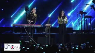 Afortunada - Francisca Valenzuela y Javiera Mena en Festival de Radio UNO