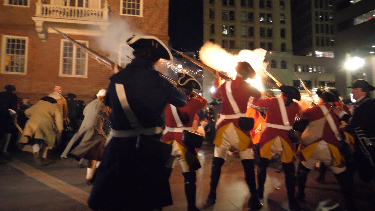 Download 2020 Boston Massacre Reenactment 250th anniversary