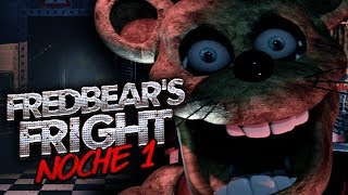 FREDBEAR'S FRIGHT ⭐️ NOCHE 1 (MI COSI ME PONE NERVIOSO!!) | iTownGamePlay