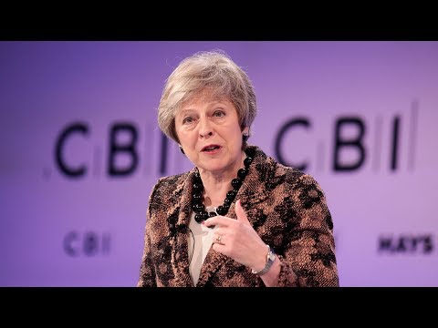 Theresa May discusses post-Brexit deal in Brussels