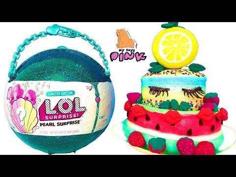 видео: ТОРТ! ЖЕМЧУЖНЫЙ ЛОЛ! И МИЛЛИОН! lol pearl surprise! squishy diy cake СВОИМИ РУКАМИ | МАЙ ТОЙС ПИНК